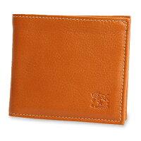 【イルビゾンテ/ILBISONTE】レザー二つ折り財布\14700