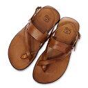 【イルビゾンテ/IL BISONTE靴サンダル】ヒールストラップレザーサンダル(メンズ) [No_5432300161]【送料無料】