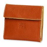 【ケアセットプレゼント】【イルビゾンテ IL BISONTE 財布】スクエアレザーウォレット  [商品番号_411465]【送料無料】【あす楽対応】【財布 二つ折り財布】