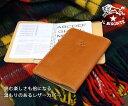 【予約12月入荷分】【イルビゾンテ財布】レザーブックカバー¥10500《411854_IL BISONTE》