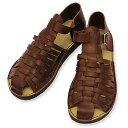 【イルビゾンテ / IL BISONTE 靴 サンダル】レザーメッシュサンダル(メンズ) [No_5432404261]【送料無料】