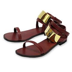 【ピッピシック/Pippichic】Plate sandal flat 15 プレートサンダル フラット[pp14s-psf10]【送料無料】【あす楽対応】