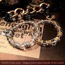 水晶 ブレスレット レディース パワーストーン ブレスレット NOLITA fairy stone 天然石水晶 カット水晶 メタルパーツ チャーム 付き パワーストーンブレスレット Tiara PANDORA agate