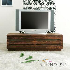 テレビボード 120 ウォールナット ブラックチェリー