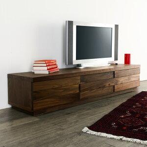 テレビボード 160 ウォールナット ブラックチェリー