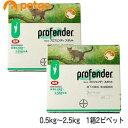【2箱セット】プロフェンダースポット 猫用 0.5~2.5kg 2ピペット(動物用医薬品)【あす楽】