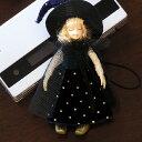 かわいい妖精たち※携帯に、バッグに、肩や胸元、髪飾りにも※【ISIS】ストラップ:タイニーウィッチ(ストライプ)