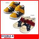 ダブルB(ミキハウス) キャンバス素材のセカンドベビーシューズ(ミキハウス 靴)