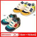 ミキハウス(MIKIHOUSE)&ミズノ コラボレーション mロゴ セカンドベビーシューズ(靴)【30%OFF】