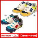 ミキハウス(MIKIHOUSE)&ミズノ コラボレーション mロゴ☆キッズシューズ(ミキハウス 靴)