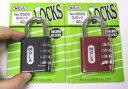 番号あわせ錠 GUロック 40ミリ おしゃれでかわいいです♪MOLA(モーラーロック) メール便OK!
