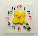 新発売! GHO掛け時計 アクリル板カッティングシート(絵の具)