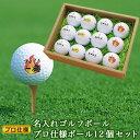 <あす楽>ゴルフボール 【名入れ12個】プロ仕様 ゴルフ ボ...
