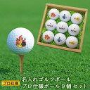 <あす楽>ゴルフボール【名入れ9個】プロ仕様 ゴルフ ボール...