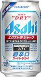 【2ケース単位】【送料無料!】(北海道、沖縄、離島地域は除く。配送は佐川急便で。)アサヒスーパードライエクストラシャープ350ML缶(6缶パック×4入=24本×2)2ケース売り