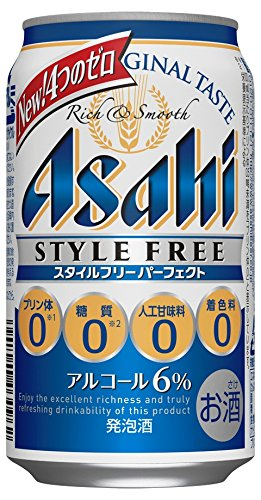 父の日ギフト発泡酒アサヒスタイルフリー パーフェクト350ml缶6缶パック×4入2ケース48本入りアサヒビール送料無料