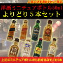 【よりどりみどり】【送料無料】洋酒ミニチュアボトル 50ml...