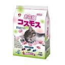 ペットライン 猫砂 お花畑 コスモス 15L