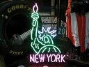【サイズを選べるネオン管】ネオンサイン ニューヨークの自由の女神ネオン(電飾/電光掲示板/照明/インテリア/看板/アメリカン雑貨)
