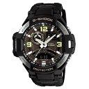 カシオ G-SHOCK Gショック 時計 メンズ 腕時計 SKY COCKPIT スカイコックピット 防水 アナデジ オールブラック 海外モデル GA-1000-1B ビジネス 男性 誕生日 お祝い ギフト