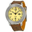 アディダス 時計 メンズ 腕時計 マンチェスター ブラウンレザー ADH2971 ビジネス 男性 ブランド プレゼント【仕事用】【楽ギフ_包装】【はこぽす対応商品】【02P01Oct16 】