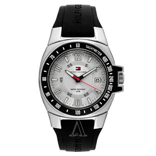 トミーヒルフィガー メンズ 腕時計 ブラック シリコン 1790485 ビジネス 男性 ブランド 時計 誕生日 お祝い クリスマスプレゼント ギフト お洒落