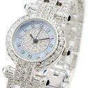 楽天腕時計ノップル 楽天市場店ルイラセール 時計 レディース 腕時計 天然ダイヤモンド ブルーシェル シルバー ステンレス LL01SV-D ビジネス 女性 ブランド 時計 誕生日 お祝い クリスマスプレゼント ギフト お洒落
