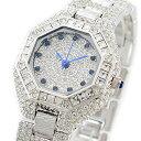 楽天腕時計ノップル 楽天市場店ルイラセール 時計 レディース 腕時計 天然サファイア シルバー ステンレス LL08SV-S ビジネス 女性 ブランド 時計 誕生日 お祝い クリスマスプレゼント ギフト お洒落