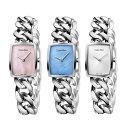 【選べる3カラー・3サイズ!】カルバンクライン 腕時計 レディース AMAZE アメイズ ブレスレットウォッチ スイスクオーツ トノー型 ピンク ブルー シルバー K5D2S12E ビジネス 女性 ブランド 時計 誕生日 お祝い プレゼント ギフト