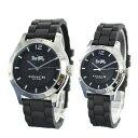 コーチ 腕時計 ペアウォッチ マディ シンプル 同じデザインが嬉しい 2本セットブラック ラバー 黒 時計 1450221714502524 ブランド 彼..