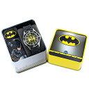 小学生 入学祝い 男の子 こども 孫 腕時計 バットマン キッズ ウォッチ 子供用 DCコミックス ブラック 黒い時計