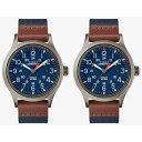 国内正規品 タイメックス 時計 メンズ レディース ペアウォッチ シェア 腕時計 スカウト グレーケース ブルー レザーベルト TW4B14100TW4B14100 ビジネス 男女 ペアセット カップル 時計 誕生日 お祝い プレゼント ギフト ブラックフライデー