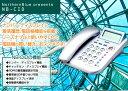 液晶デザイン電話機 ノーザンブルー NB-CID 電話機/本体/固定/固定電話/固定電話機 NP後払い/コンビニ後払い対応