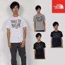 【エントリーでポイント10倍】 秋冬新作 ノースフェイス NT81881 メッセージティー MESSAGE TEE メンズ Tシャツ
