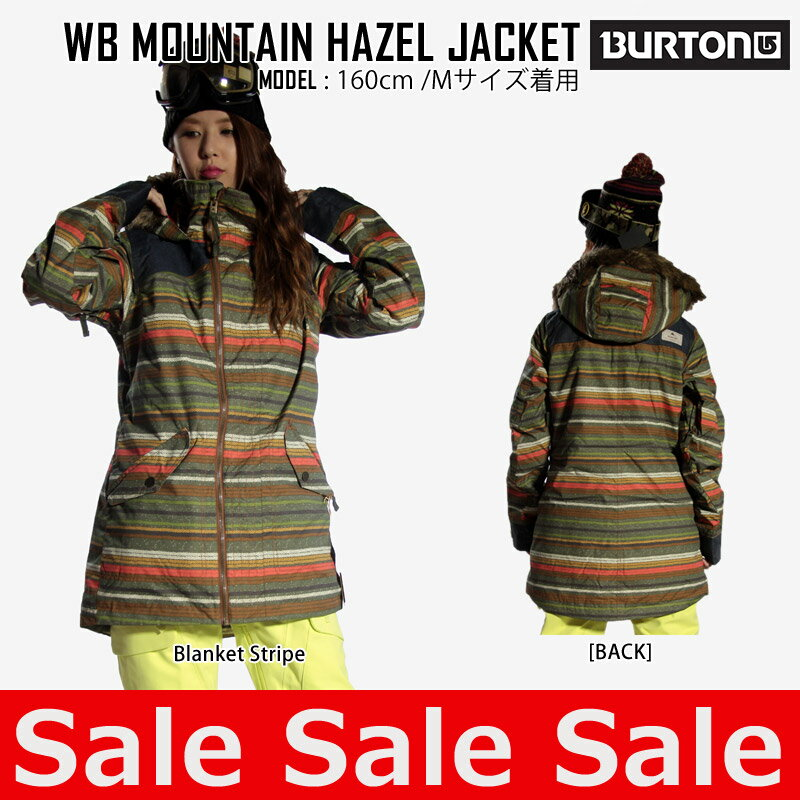 15-162016����ͽ����10%OFF�ڥС��ȥ�BURTON�ۥ�������������ǥ�����MOUNTAINHAZELJACKET�ء����른�㥱�å�15014100���㥱�åȥ��Ρ��ܡ���