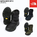 ショッピングタープ ノースフェイス THE NORTH FACE ヌプシ ブーティー ウォータープルーフ VI NUPTSE BOOTIE WP VI ブーツ 靴 NF51873 メンズ レディース