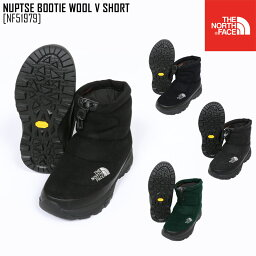 <strong>ノースフェイス</strong> THE NORTH FACE ヌプシ ブーティー ウール V ショート NUPTSE BOOTIE WOOL V SHORT <strong>ブーツ</strong> 靴 NF51979 メンズ レディース