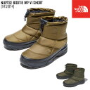 セール SALE ノースフェイス THE NORTH FACE ヌプシ ブーティー ウォータープルーフ VI ショート NUPTSE BOOTIE WP VI SHORT ブーツ 靴 NF51874 メンズ レディース