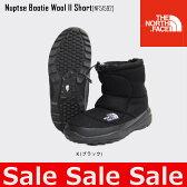 セール 30%OFF ノースフェイス THE NORTH FACE Nuptse Bootie Wool II Short ヌプシ ブーティー ウール II ショート メンズレディース