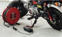 [セルスター/CELLSTAR]DRCシリーズDRC-200自動充電制御バッテリー充電器(DC12V専用2.3Ah〜30Ah対応)