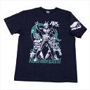 ショッピング仮面ライダー 仮面ライダーBLACK RX「ポーズ」Tシャツ(ネイビー)