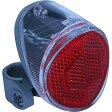 【CATEYE(キャットアイ) TL-SLR200】(一般車用)ソーラータイプシートステー取り付けダブルセンサー(明るさセンサー+振動センサー)で自動的に点滅