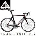 30%OFF 2015年モデル FUJI フジ TRANSONIC 2.7 ロードバイク