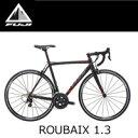 【30%OFF】FUJI ルーベ 1.3 ROUBAIX 1.3 2016年モデル 49サイズ マットブラック/レッド