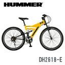自転車 マウンテンバイク HUMMER (ハマー) 【HUMMER DH2618-E】 26インチ 18段変速 【smtb-k】