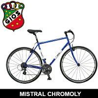 2019モデル GIOS ジオス MISTRAL CHROMOLY ミストラルクロモリ クロスバイクの画像