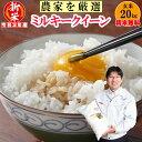 【新米】玄米 20kgミルキークィーン井澤商店4代目が生産農...