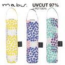 【mabu】【晴雨兼用傘】レディース折りたたみ傘 UVカット97% ブーケ マブ