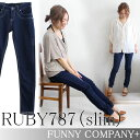 Skinny ◆ RUBY787 (slim) which it is easy to wear in superior stretch characteristics