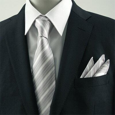 【ネクタイ】おすすめは「シルバー」、NGカラーは「黒」